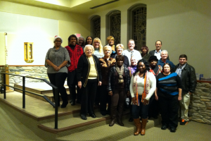 Staff Members pictured at he 2013 Tarry House Holiday Party.